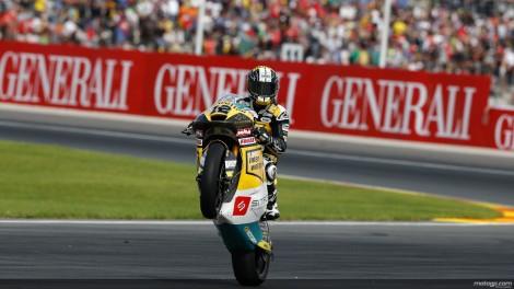 Tom Luthi venceu a última corrida de Moto2 do ano