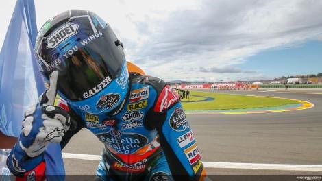 Alex Márquez venceu o seu primeiro campeonato do Mundo nas Moto3