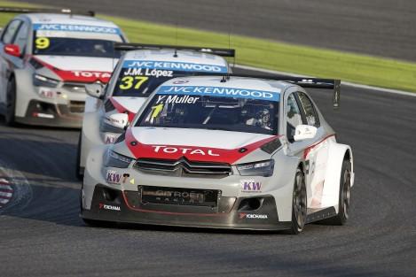 A Citroën confirmou para 2015 os mesmos três pilotos deste ano