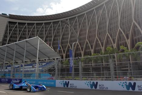 Félix da Costa estreou-se na Fórmula E com um oitavo lugar