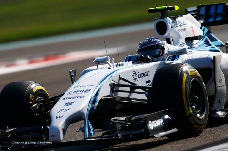 Valtteri Bottas foi o mais rápido no primeiro dia de testes