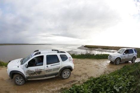 Na Ponta da Erva parou-se para apreciar o Estuário do Tejo
