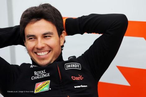 Sérgio Pérez vai continuar na Force India em 2015