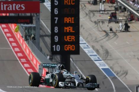 Hamilton conquistou em Austin a sua 10º vitória do ano