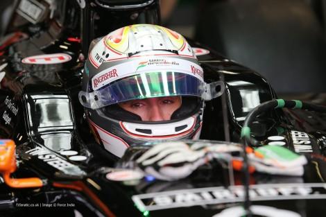 Juncadella vai estar nos treinos livres de sexta-feira do GP do Brasil com a Force India