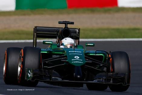 A Caterham anunciou que vai estar à partida do GP do Abu Dhabi