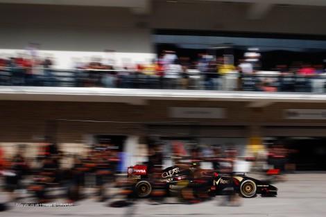 Pastor Maldonado pontuou pela primeira vez esta temporada