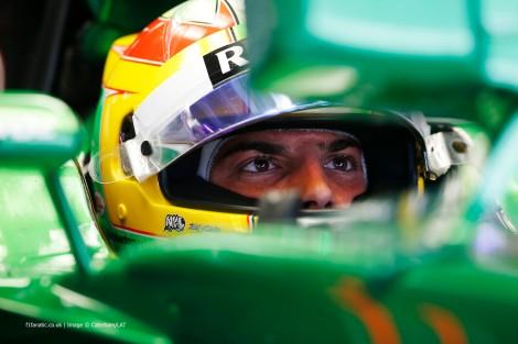 O pai de Merhi diz que o filho vai correr n Abu Dhabi