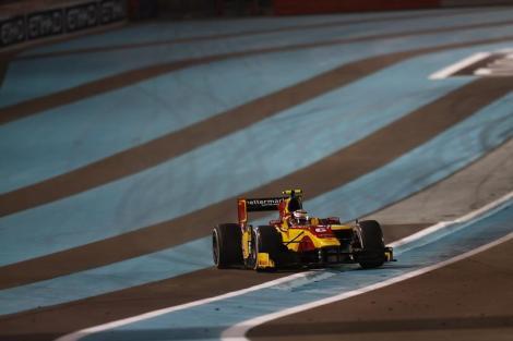 Stefano Coletti venceu a última prova de GP2 do ano