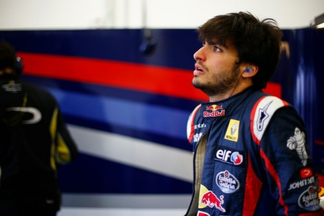 Carlos Sianz Jr. surgiu de repente ligado à McLaren