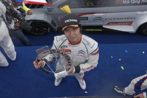 Ma Qing Hua vai correr em 2015 na Sèbastien Loeb Racing