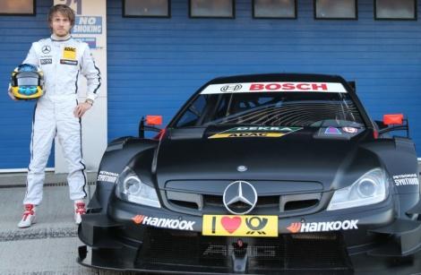 A Mercedes deu a cinco jovens pilotos um teste em Jerez com o carro do DTM