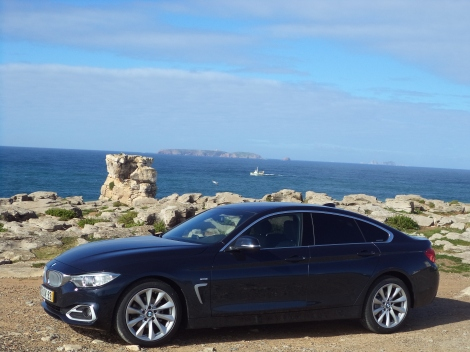 BMW 418d Gran Coupé Line Modern (Fotos: Nau dos Corvos, Cabo Carvoeiro)