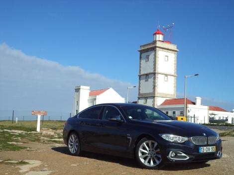 O BMW 418d Gran Coupé é a entrada de gama nos motores Diesel