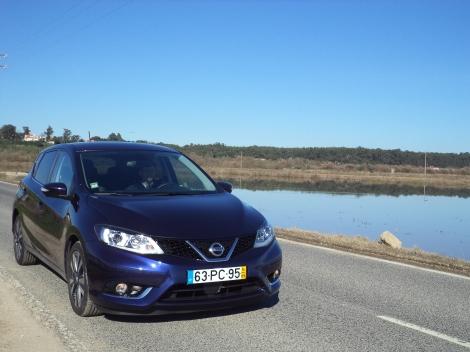 O Pulsar ostenta todos os mais recentes pormenores de estilo da Nissan