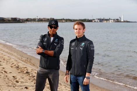 O título deverá voltar a ser discutido entre Lewis Hamilton e Nico Rosberg