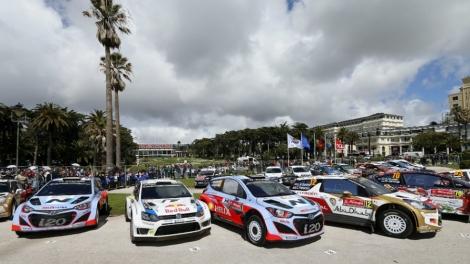 O Rali de Portugal vai deslocar-se do Algarve para o Norte e terá lugar em maio