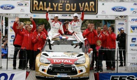 Acompanhado pela sua mulher Severine, Sébastien Loeb dominou o Rallye du Var