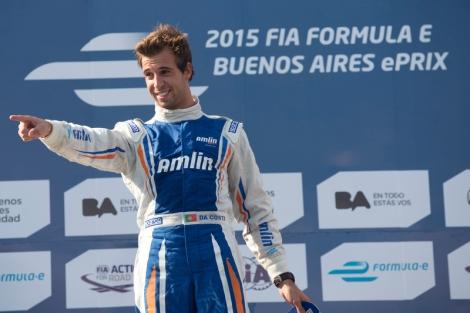 António Félix da Costa conquistou a sua primeira vitória na Fórmula E