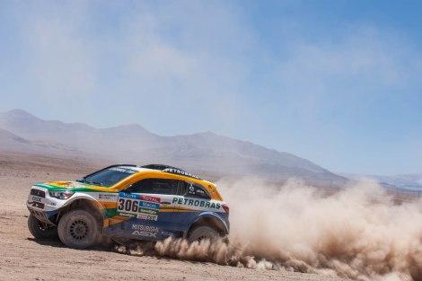 Depois da etapa de hoje Carlos Sousa está em 9º lugar no Dakar