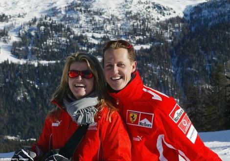 Michael Schumacher chora quando reconhece a voz da mulher
