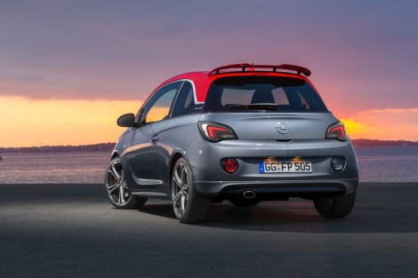 O Opel ADAM S custa 19.990 euros