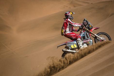 Hélder Rodrigues venceu a sexta etapa do Dakar