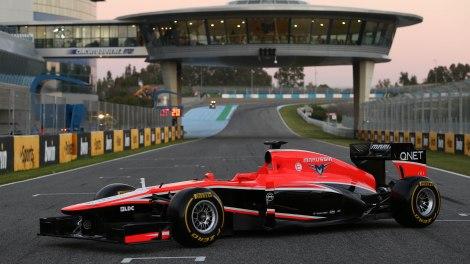 A Marussian quer correr este ano com o material antigo
