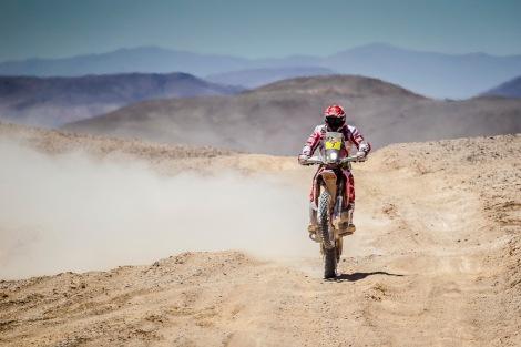 Paulo Gonçalves venceu a 7ª etapa do Dakar nas Motos