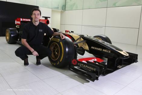 Jolyon Palmer vai ser o terceiro piloto da Lotus