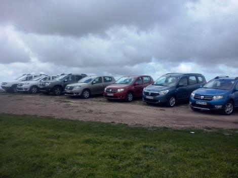A Dacia no alto da Serra do Socorro, o Ninho dsa Águia