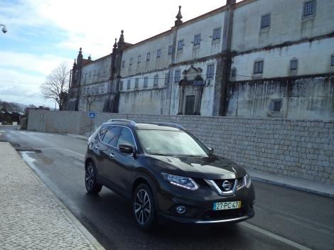 Nissan X-Trail ????? (Fotos: Convento de Cristo, Tomar e Rio Maior)