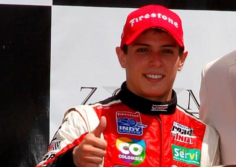Gabby Chaves vai correr na IndyCar este ano