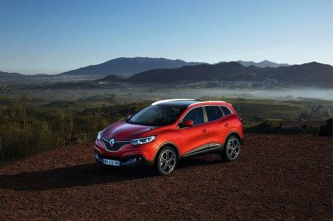 O Renault Kadjar vai chegar no Verão ao mercado europeu