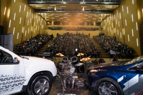 O público encheu o Grande Auditório do Teatro Municipal da Guarda