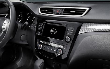 """O novo Nissan Connect exibe-se agora num écrã tátil de 7"""""""