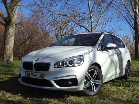 BMW 216d Active Tourer (Fotos: Estrada do Campo, Azambuja)