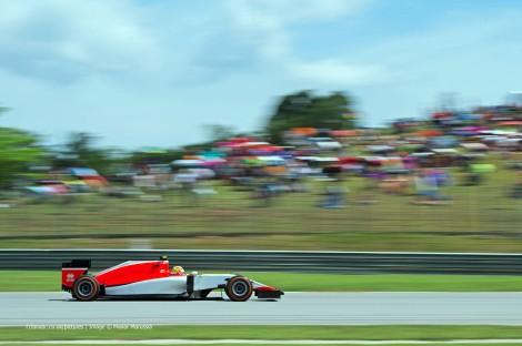 Roberto Merhi estreou-se na F1 com um 15º ao volante do Manor