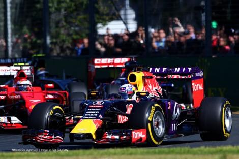 Daniel Ricciardo teve que se contentar com o 6º lugar