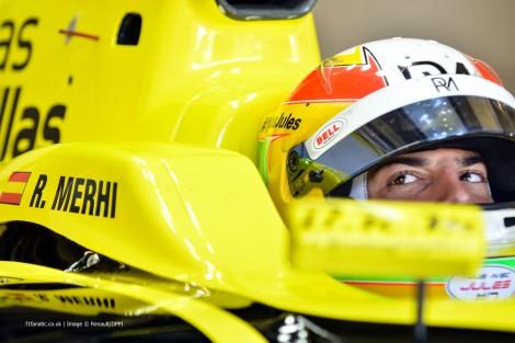 Roberto Merhi vai correr com a Manor na Austrália