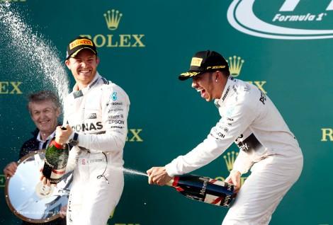 A Mercedes dominou o GP da Austrália com Hamilton a festejar a sua ???? vitória na F1