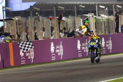 Valentino Rossi ganhou o GP do Qatar de MotoGP