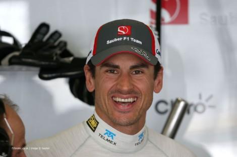 Adrian Sutil é o novo piloto de testes da Williams