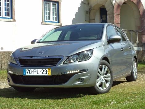 Peugeot 308 5 p. 1.2 THP 110 Active (Foto: Casa de Guarda Florestal, Serra dos Candeeiros)