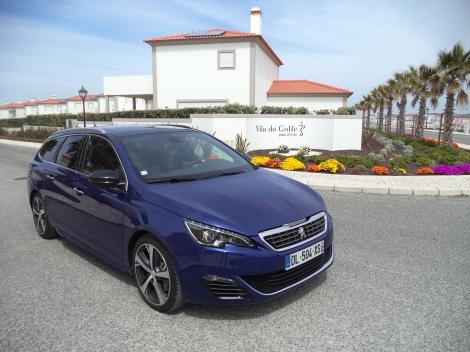Peugeot 308 SW GT 1.6 THP 2015 (Fotos: Praia d'el Rey, Óbidos)