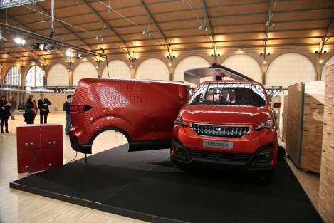 O Foodtruck Peugeot né uma reinvenção das carrinhas de comes e bebes