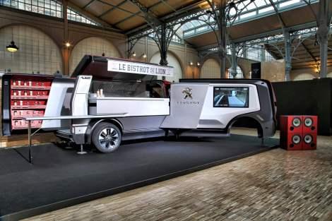 A Peugeot apresentou Le Bistrot du Lion