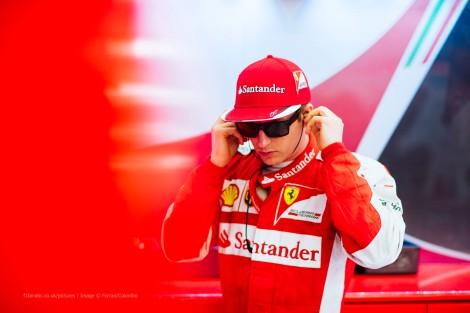 CFom um bom andamento Kimi Raikkonen quase surpreendeu o vencedor