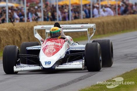 O Toleman que Senna conduziu em 1984 está à venda em Londres