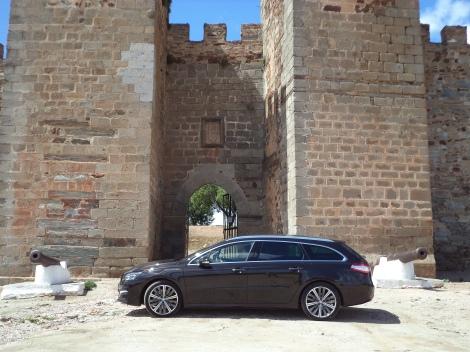 Peugeot 508 SW GT 2.0 BlueHDi 180 EAT6 (Fotos: Castelo de Mourão, Alentejo)